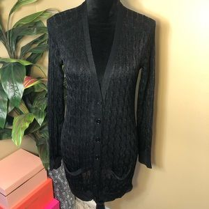 Like New Ralph Lauren Long Black Sweater